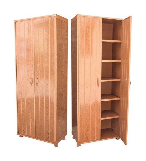 Пластмасов водоустойчив шкаф в бяло, бежово, сиво и кафяв dd65 - 170 см