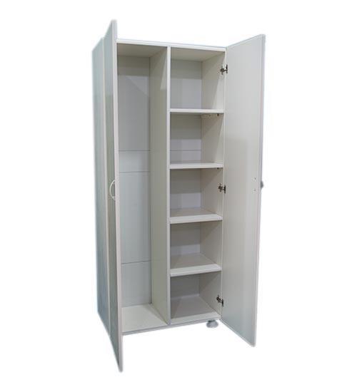 ПВЦ Шкаф МD72 - 170 см Бял, Беж, Кафяв