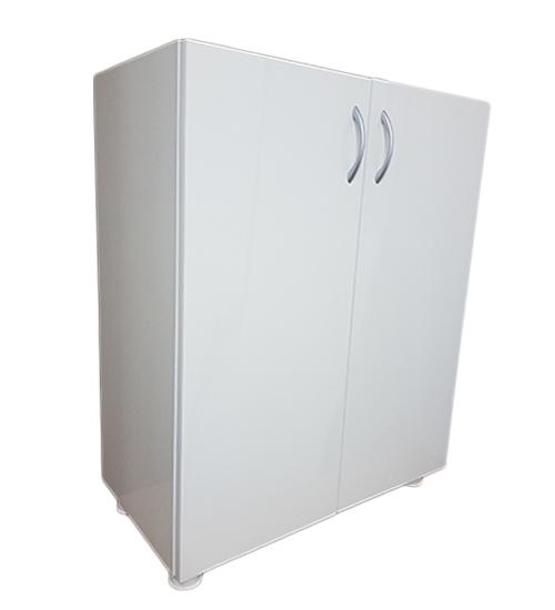 ПВЦ Шкаф DD72 - 90 см Бял, Беж, Кафяв