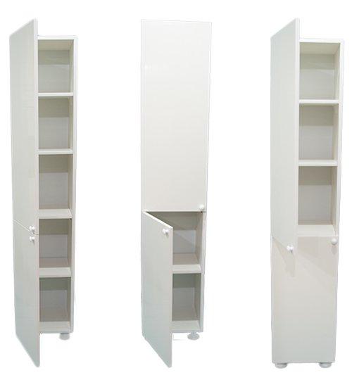 ПВЦ стояща колона за баня бяла две врати sd36 - 170