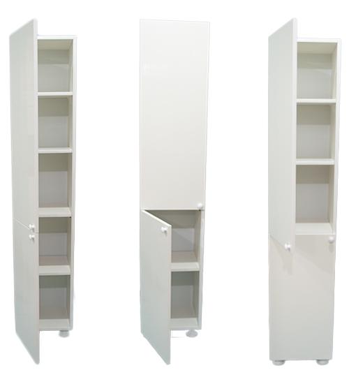 ПВЦ Шкаф SD36 - 170 Duo см Бял, Беж, Кафяв