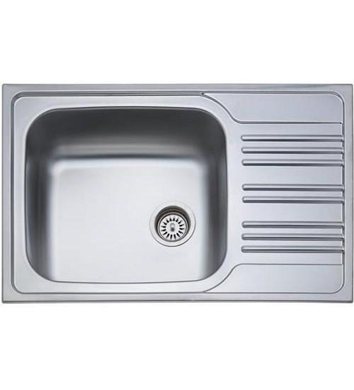 Алпака мивка за кухня с плот 50 х 78 см DE167