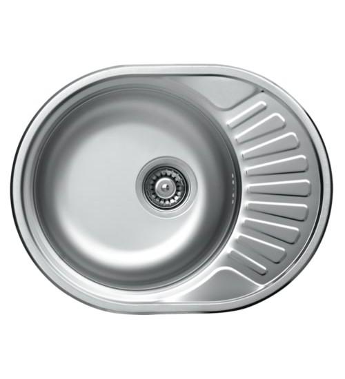 Алпака мивка за кухня от неръждаема стомана 45 х 57 см KR-EC157