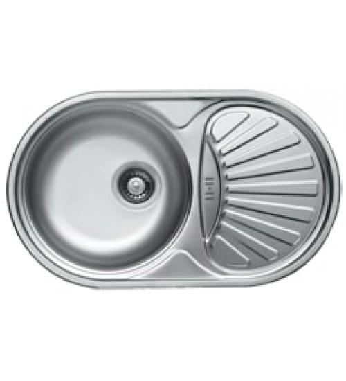 Алпака мивка за кухня с плот неръждаема K-ЕС166