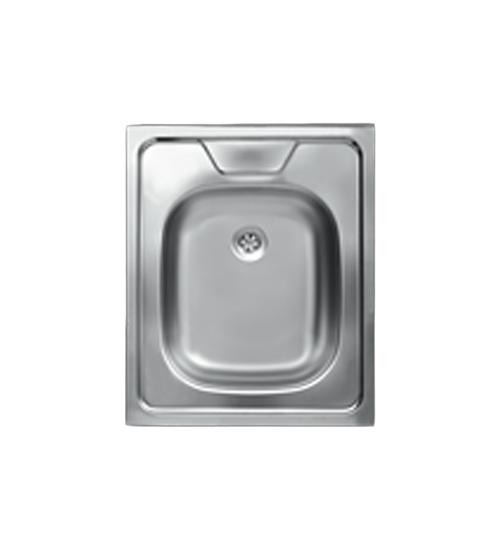 Бордова мивка за кухня неръждаема 50 x 60 см EC108