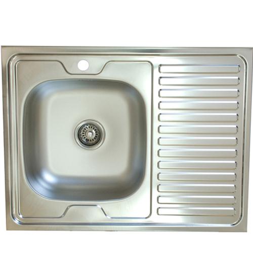 Бордова мивка за кухня алпака 60 x 80 см N120