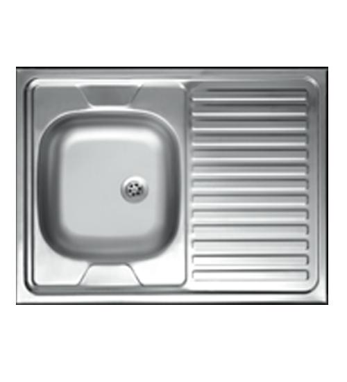 Бордова мивка за кухня алпака 60 x 100 см N121