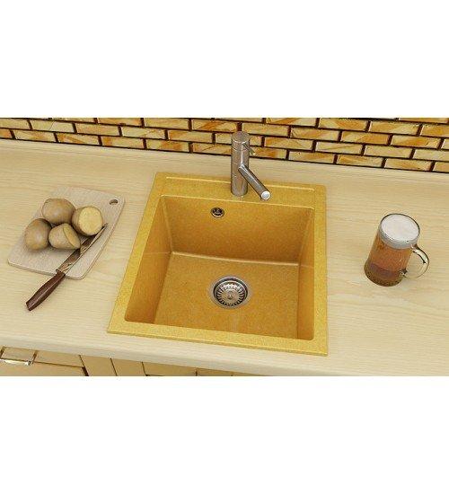 Полимермраморна мивка за кухня Fat avangard 46 х 51
