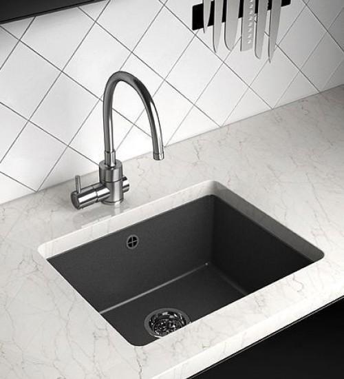 Гранитна мивка за кухня в четири цвята