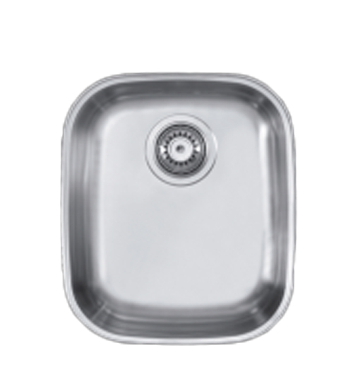 Алпака мивка за кухня под плот неръждаема ЕХ005