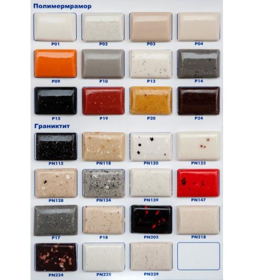 Полимермраморна мивка цветна Bet