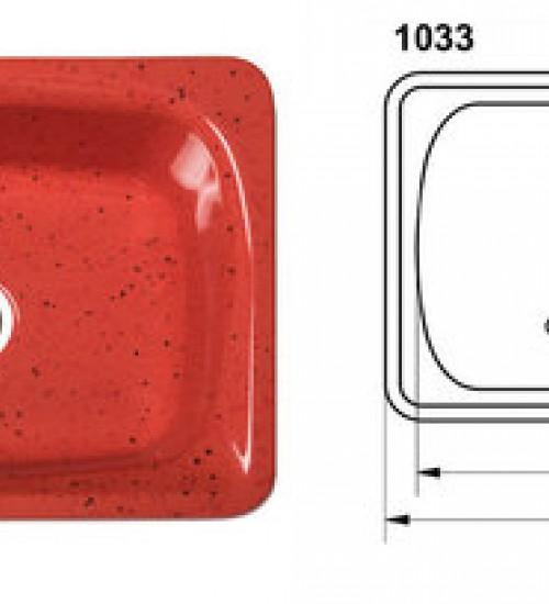 Полимерна (Гранитна) Мивка 1003