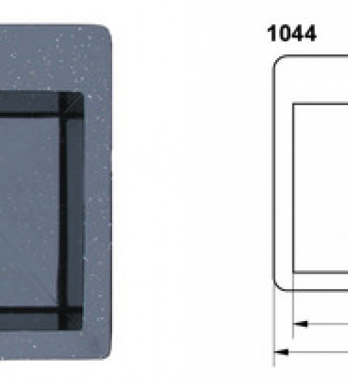 Полимерна (Гранитна) Мивка 1044