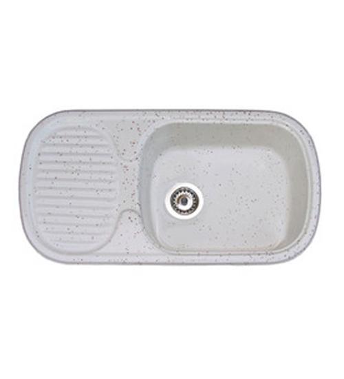 Полимермраморна мивка за кухня с отцедник Arda