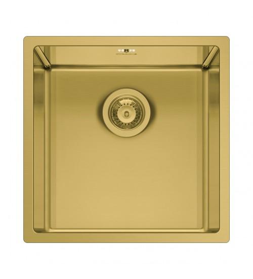 Алпака мивка Astris Злато 40х40