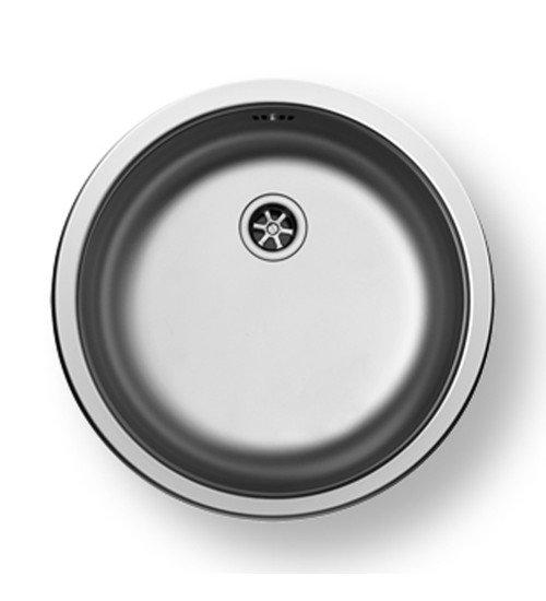 Алпака мивка за кухня кръгла CR ф45