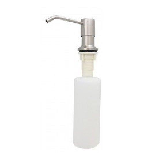 Дозатор за течен сапун за вграждане в сиво Inox