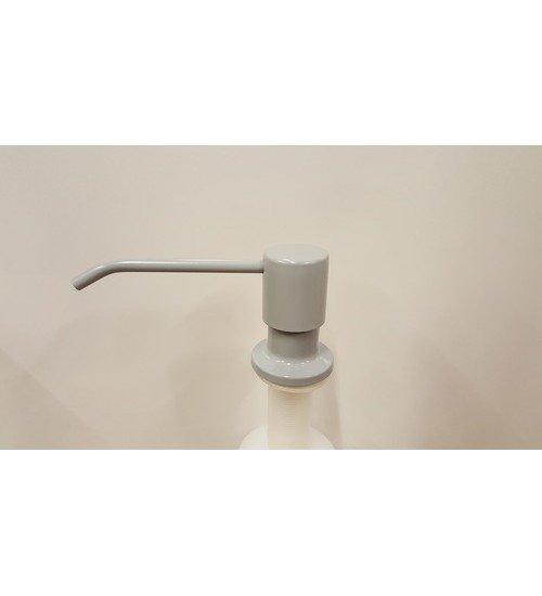 Дозатор за течен сапун за вграждане в сиво Grey