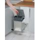 Кухненски кош за вграждане под мивка инокс 16 l