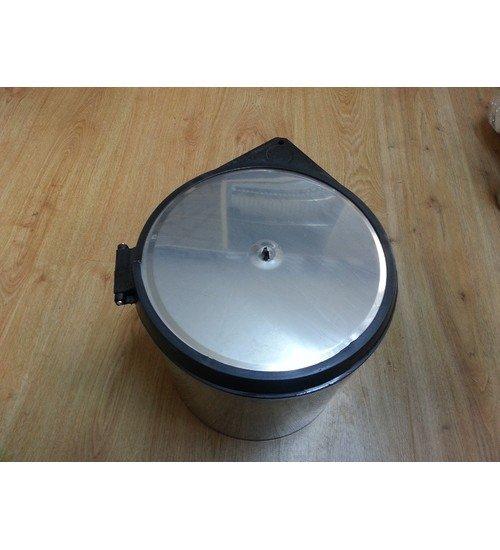 Кухненски кош за вграждане под мивка Lot хром 11 л