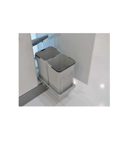Кухненски кош за вграждане под мивка Zig
