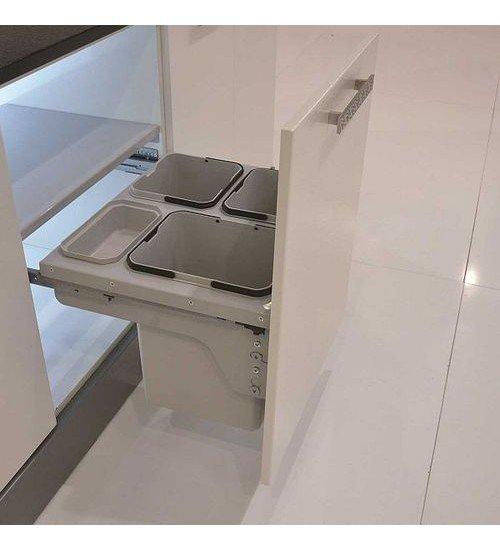 Кош за вграждане на врата плавно прибиране 60 см