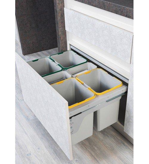 Кухненски кош за вграждане в чекмедже 2