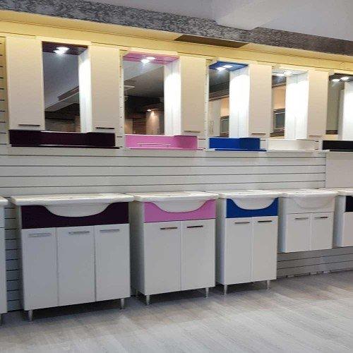 ПВЦ комплекти мебели за баня