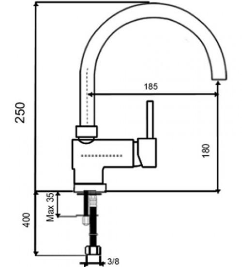 Смесител за Кухня ТУ 106