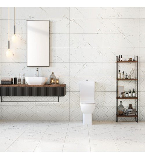 Плочки за баня Calacatta marmi glossy 30 x 90