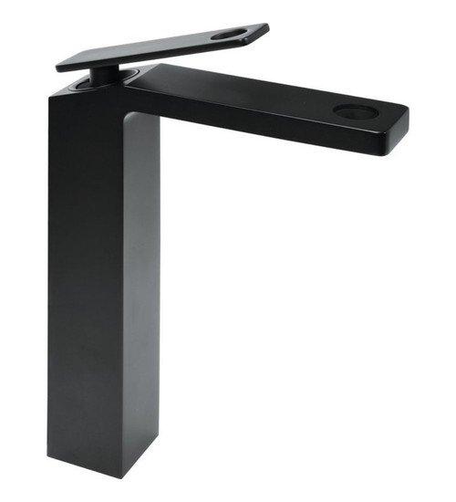 Висок смесител за баня Cuadro черен