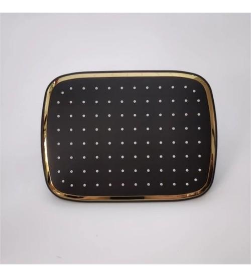 Душ комплект, смесител за баня в злато и черен мат Ruby